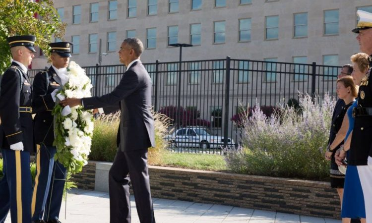 President Obama and Secretary of State Kerry Mark the Fifteenth Anniversary of September 11th