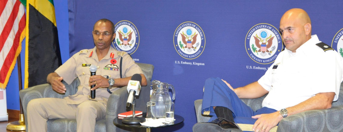 US-JA Partners on Countering Violent Extremist Organizations at Press Avail