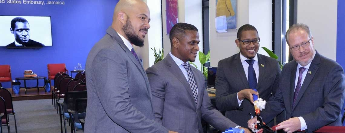 U.S. Embassy Kingston Launches new Robeson American Center